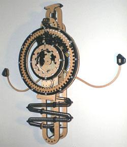 Tobin's rolling-marbles clock