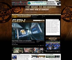 Gameday Magazine Screenshot